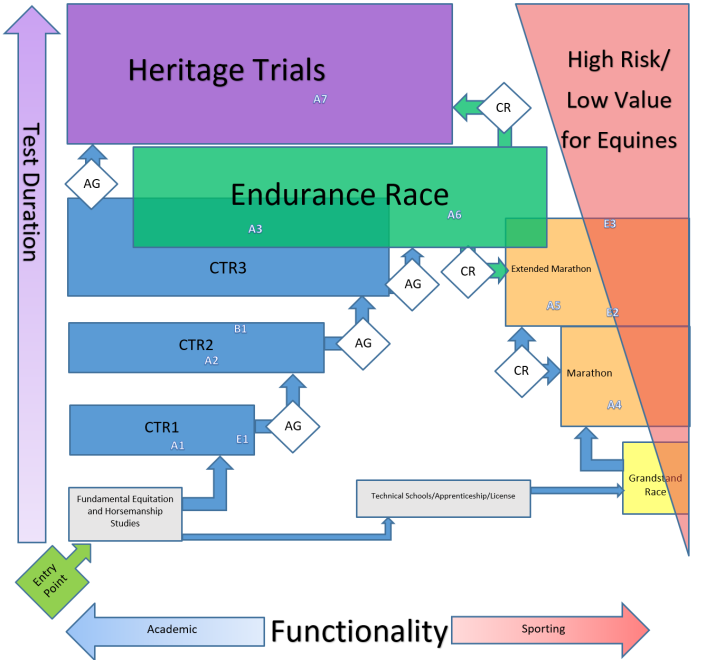 Endurance Program Conceptual Chart